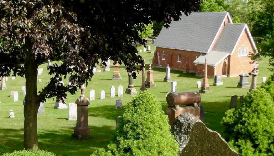 st johns cemetery mono ontario