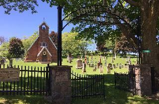 st johns cemetery mono location