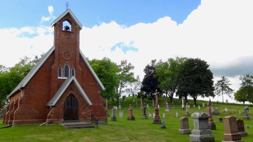 old st john's church cemetary